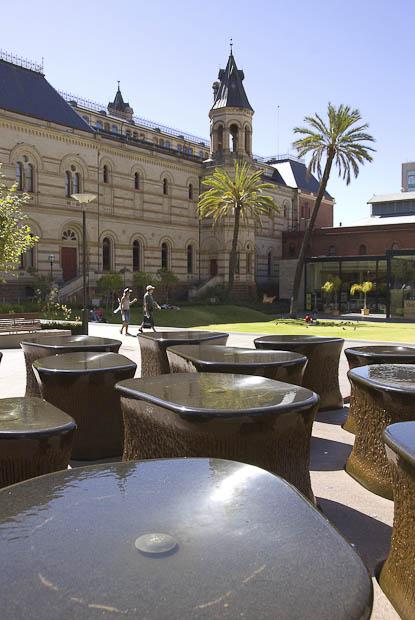Adelaide Il South Australian Museum sulla North Terrace